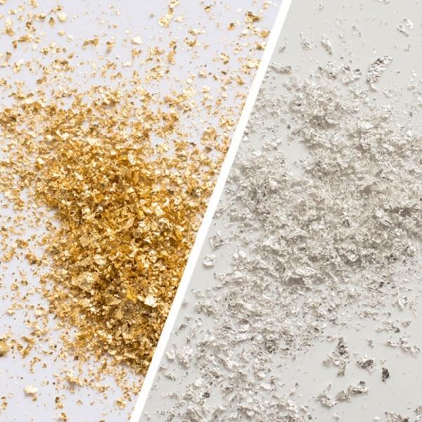 Goldmarie® Blattgold Flocken